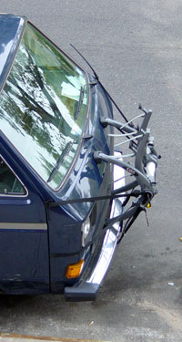 saris bones bike rack on vanagon